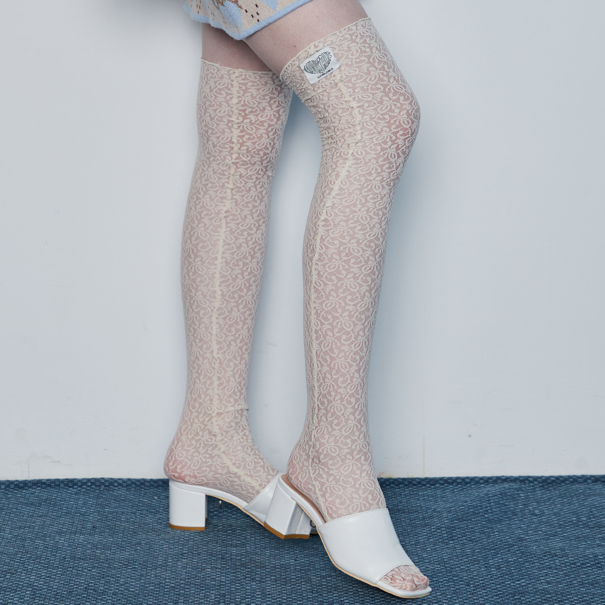IN LACE SOCKS(IVORY)