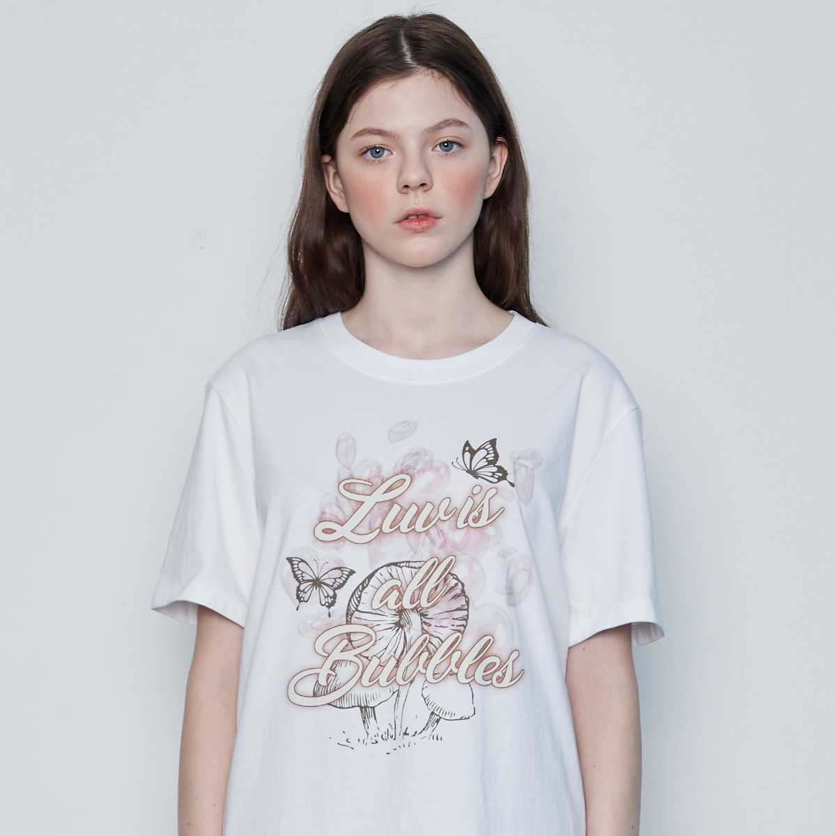 IN BUBBLE TEE(WHITE)